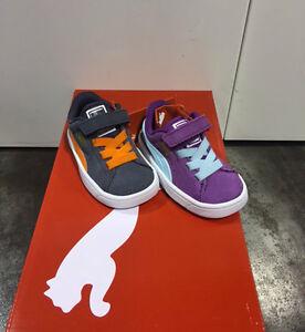 FW15 Puma Daim S V Chaussures Enfant en Bas Âge Junior Garçon Fille 359452