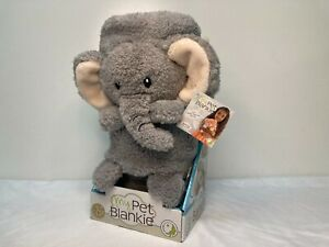 NEW MY PET BLANKIE ELEPHANT Baby Blanket & Pillow & Plush Toy 3-in-1 NEW w TAGS