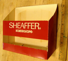 Sheaffer No Nonsense Counter Display Box Kaleidoscope fountain Pen BallPoint vtg