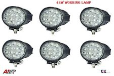 6X 42W 10-30V 14 LED WORK FLOOD BEAM LAMPS LIGHTS NEW HOLLAND MASSEY FERGUSON