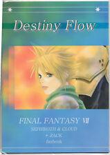 Manga DESTINY FLOW FINAL FANTASY VII SEPHIROTH & CLOUD + ZACK Fanbook - NEW