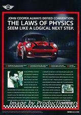 2009 John Cooper Works Mini - Original Advertisement Print Art Car Ad J692
