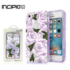 New Incipio Design Series Case for iPhone SE 5 5S SE - Wild Rose Purple Clear