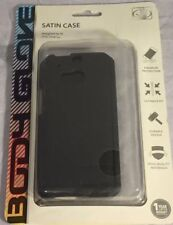 NEW Original Body Glove Satin Case For HTC One M8 - Ultra Thin Protection Black!