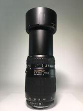 Quantaray AF 70-300mm f/4-5.6 LD Tele-Macro lens for Nikon AF