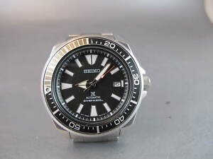 Seiko Prospex Samurai Diver's Automatic SRPB51 all steel on bracelet NO RESERVE