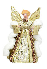 Angel Christmas Tree Topper Champagne - 20cm  NEW  27127