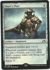 1x Foil Slayer's Plate Magic the Gathering MTG Shadows Over Innistrad