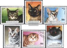 Togo 2537-2542 (compl.edición) usado 1997 gatos