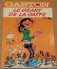 GASTON LAGAFFE -10- / Le Géant de la Gaffe / 1973 / BE+