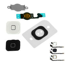 Home Menu Button Key Cap + Flex Cable + Bracket Holder for iPhone 4 4G 4S 5 5S