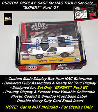 Custom Display Box: AW MAC TOOLS Racing  'EXPERT' Ford GT  SET ONLY Car    NEW!