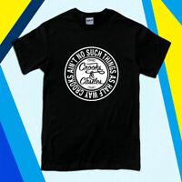 Crooks and Castles Band Logo Men's Black White T-Shirt Size S to 2XL