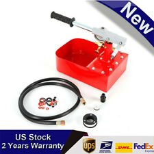 Manual Hydraulic Pressure Test Pump 69bar 1000psi Hand Pump For Water Oil New
