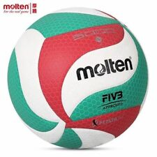 Molten VSM4500 Volleyball Ball # 5 Official PU Leather Soft Touch Outdoor Game