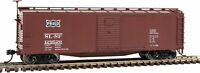 Walthers HO Scale 40' Rebuilt Steel Boxcar St Louis-San Francisco/Frisco #129520