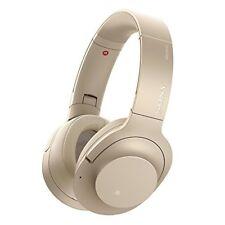 2017 SONY wireless noise canceling headphone WH-H900N pale gold WH-H900N N