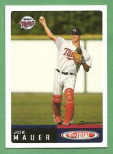 JOE MAUER 2002 Topps Total Rookie #1 Twins
