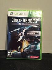 XBOX 360 Zone of the Enders HD Collection  NEW SEALED