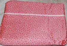 RALPH LAUREN Villa Camelia Fretwork TWIN FLAT SHEET NEW Cotton