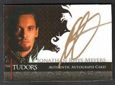 THE TUDORS FINAL SEASON (Breygent 2013) AUTOGRAPH CARD #JM JONATHAN RHYS MEYERS