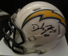 DESMOND KING LOS ANGELES LA CHARGERS SIGNED SPEED MINI HELMET w/ COA