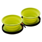 Tiernapf Set Foldable on the Road Outdoor Camping Food Bowl Dog Accessories Bowl