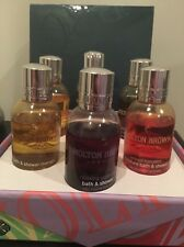 Molton Brown Bath & Shower Gel 6 Bottle Set Classic Scents
