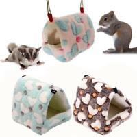Hängemattennest Meerschweinchen Ratte Hamster Mäuse Bett Spielzeug Wärmer Haus