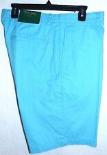 Bobby Jones 100% Cotton Golf Shorts*32*Aqua*Special Sale Price