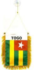 "Togo Mini Flag 4""x6"" vBanner w/ suction cup"