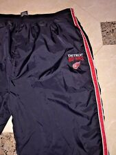PRO EDGE Detroit Red Wings NHL  Men's Wind/Athletic Pants 100% Nylon XLARGE
