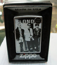 Blondie Zippo Lighter Authentic 2013 Licensed Rock N Roll Debra Harry