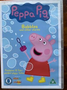 Peppa Pig DVD Bubbles + Other Stories British TV Children's Cartoon Favourite