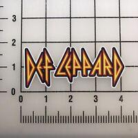 """Def Leppard 4"""" Wide Vinyl Decal Sticker BOGO"""