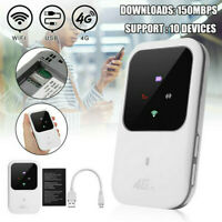 Unlocked 4G-LTE Mobile Broadband WiFi Wireless Router Portable MiFi Hotspot USB