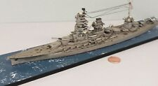1:700 Scale Built Plastic Model Ship WWII Japanese IJN Hyuga Battleship