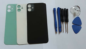 For iPhone 11 Back Glass Battery Replacement Case Case Big Camera Hole Housing