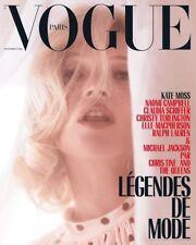 Vogue Paris Kate Moss September 2018 Issue VOGUE PARIS KATE MOSS FRENCH VOGUE
