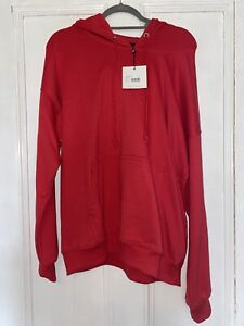 Jersey Red Long Hoodie 10