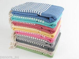 BASKET WEAVE Turkish Towel Peshtemal Sarong Bath SPA Beach Hammam 100% Cotton
