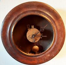 Ancien mouvement  horloge Oeil de Boeuf Signé VINCENTI & Cie 1855