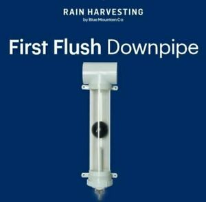 Rain Harvesting First Flush Downpipe Water Diverter 90mm - Keep Your Tank Clean