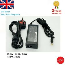 FITS HP PAVILLION DV9500 DV9600 LAPTOP AC ADAPTER CHARGER PSU + UK POWER CORD