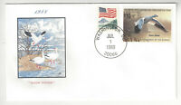 SSS: House of Farnam FDC 1988  $10  Snow Goose Federal Duck Stamp   Sc #RW55