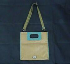 Fossil KeyPer Women Youth Casual Coated Canvas Crossbody Clutch Hand Bag Purse