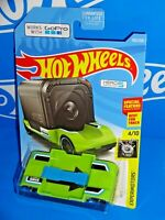 Hot Wheels 2019 Experimotors #103 Zoom In Lime Green GO PRO Car