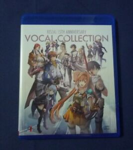 The Legend of Heroes Hajimari no Kiseki 15th Vocal Collection CD Official VGC!