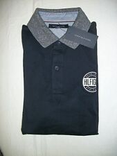 New Tommy Hilfiger Men's Short Sleeve NAVY GRAPHIC Polo Shirt Size XXL $54.99