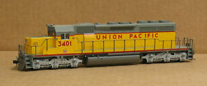 KATO 37-2910 HO Union Pacific SD40-2 #3401, DCC Operation, REDUCED PRICE